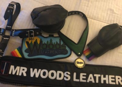 Mr. Woods Leather contest
