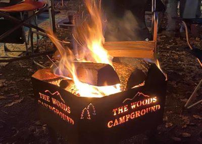 Woods Campfire