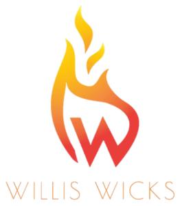 Willis Wicks logo white