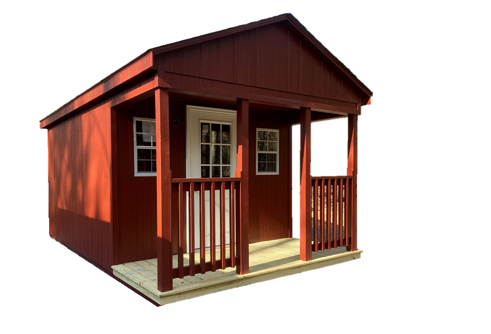 Red couples cabin